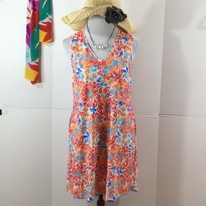 Jude Connally floral swing dress S